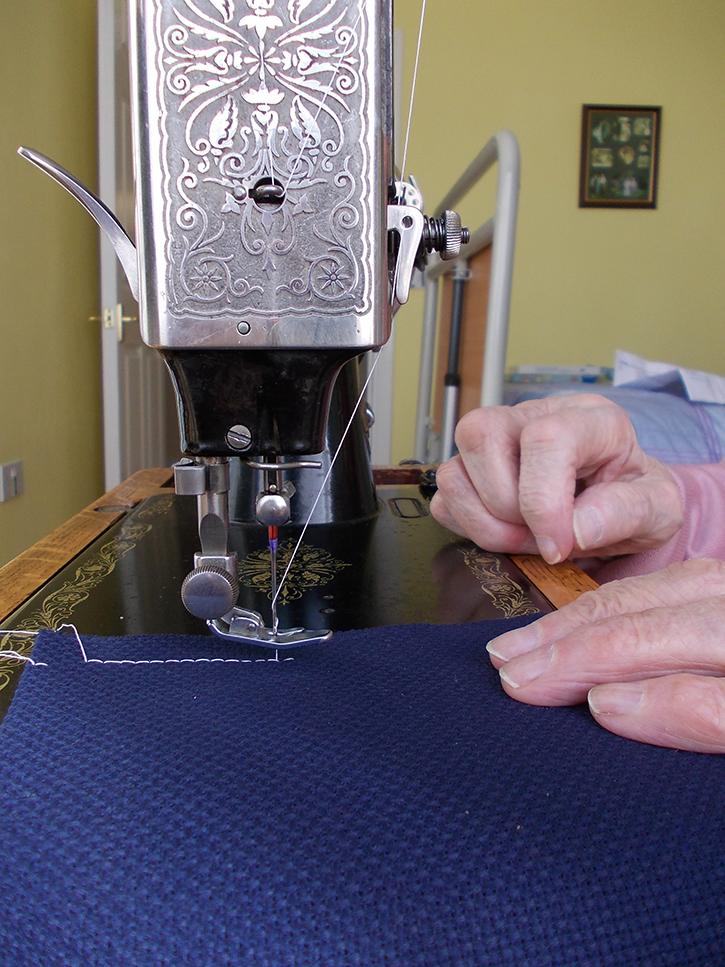 A stitch time